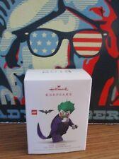 Hallmark Christmas Keepsake Ornament Lego Batman Movie Joker Mini Fig NIB