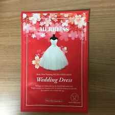 1SHEET MERBLISS WEDDING DRESS RUBY ULTRA VITALIZING MICRO-FIBER MASK PACK