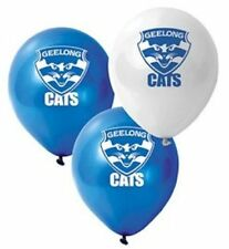 1 x GEELONG CATS AFL TEAM  LATEX BALLOON