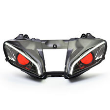 LED Angel Eyes Headlight Assembly HID Projector for Yamaha YZF R6 2008-2016 V2