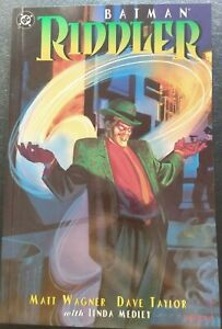 Batman / Riddler :  The Riddler Factory 1995 TPB Graphic Novel 1st VF/NM