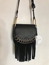 NWT Authentic Chloe Small Hudson Fringe Bag Black (Retail For $2390 Before Tax)