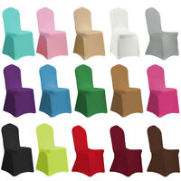 Spandex Stretch Chair Covers Seat Cover for Wedding Party Banquet Hotel Decor