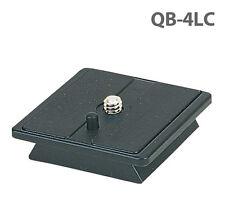 Velbon QB-4LC Quick Release Plate CX-440 CX-430