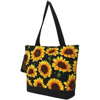 Sunflower Flower Purse Totebag w/attached coin bag NGIL NWT Free Shipping SUF821