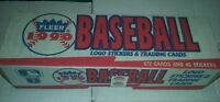 1990 fleer baseball complete Factory set