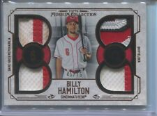 2015 TOPP MUSEUM COLLECTION BILLY HAMILTON RELIC CARD 45/75 REDS