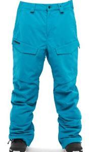 ThirtyTwo TM 10K Mens Snowboarding Ski Pants Large Blue NEW