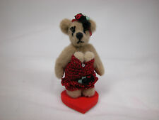 "World Of Miniature Bears Dollhouse Miniature 2.25"" Dolly Bear #724"