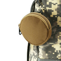 1pc 900D Tactical Wallet Pouch Portable Key Coin Purse With Hook Earphone  QA