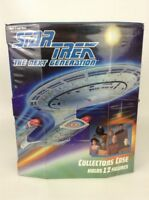 "Star Trek The Next Generation TNG Collectors 6"" Figure Case Vintage 90s Toy"