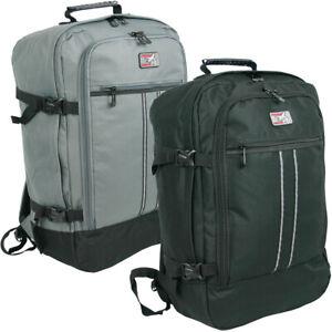 Rucksack groß Reise Airport Handgepäck-Format robust sehr leicht viele Fächer