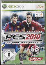 XBOX 360 Live 'PES 2010-Pro Evolution Soccer' NUOVO/NEW/Scatola Originale Calcio