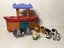 Fisher-Price Little People Noah's Ark Incomplete set please see pics