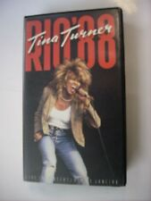 TINA TURNER - RIO '88 - VHS PAL EXCELLENT CONDITION
