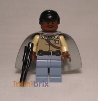 Lego Lando Calrissian Minifigure from set 7754 Star Wars NEW sw251