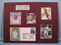 St. Louis Cardinals - 1934 World Series Champs & Jesse Haines & First Day Cover
