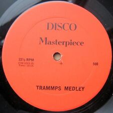 """TRAMMPS rare long medley 12"""" from Sunshine acetate source b/w Hollywood remix"""