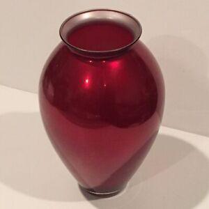Crate & Barrel 'Red Velvet' Vase
