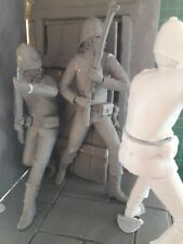 120mm 1/16 scale 24th Foot defending the hospital door Rorke's Drift Zulu war