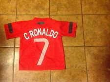 Cristiano Ronaldo PORTUGAL youth small fits size 4 jersey