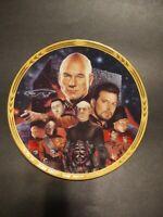Star Trek TNG Episodes Best of Both Worlds Hamilton 1994 plate free wall hanger