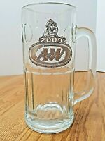 A&W 2000 Glass Mug Collectible Root Beer Vintage