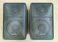 Vintage Realistic Minimus-7 Bookshelf Stereo Speaker Pair; Black Stored Properly