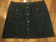 Papaya Denim Casual Skirts for Women