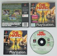 PlayStation 1 Game. Die Hard Trilogy 2 (PS1) Complete FAST FREE UK POST