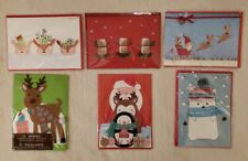 PAPYRUS Greetings Cards Christmas Lot of 6 Traditional, Religious, Handmade