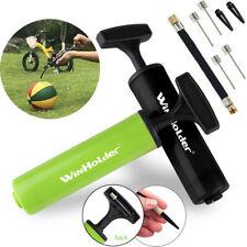 Portable Ball Inflator Hand Air Pump w/Needles For Football Basketball Soccer