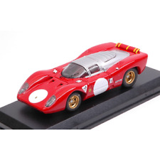 FERRARI 312 P COUPE' PROVA 1969 1:43 Best Model Auto Stradali Die Cast