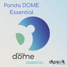 Panda Dome Essential 1, 3, 5, 10 and unlimited 1, 2, 3 Years Panda Antivirus
