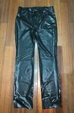 Bidding Latex Rubber Gummi Male Pants Trousers Jeans 0.4mm real pocket zipper XL