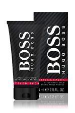 75ml Hugo Boss bottled Sport Aftershave balm for Men 2.5 oz BNIB Sealed