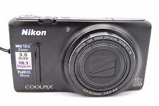 Nikon COOLPIX S9400 18.1 MP Digital Camera - Black