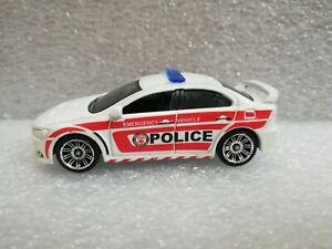 Matchbox Multi Pack Exclusive 2010 Mitsubishi Lancer Evolution X Police Loose