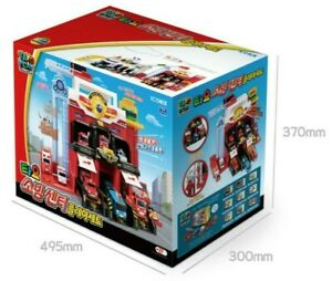 Tayo Action Fire Center Play Set Toy Exclude Tayo Mini Cars 495* 300 *370 DHL