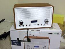 Sandstrom sdr15 DAB FM OROLOGIO RADIO NOCE & White 4W Power 2 X2W ALTOPARLANTE