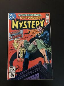 House of Mystery #290 NICE 1st App of I, Vampire & Mary Queen Of Blood, DC, 1981