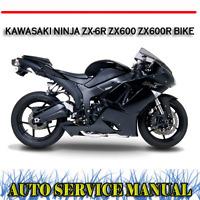 2013 2017 Kawasaki Zx636e F Ninja 600 Zx 6r Abs Motorcycle Service Manual Ebay