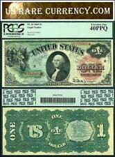 1869 $1 Legal Tender Note Rainbow FR-18 PCGS EF40 PPQ