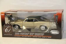 1/18 HIGHWAY 61 1966 PONTIAC GTO HARDTOP , GOLD , MARTINIQUE BRONZE #50779 , NEW