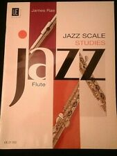 JAZZ SCALE STUDIES, FLUTE JAMES RAE, UNIVERSAL EDITION M-2