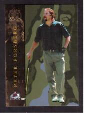 2002-03 BAP SIGNATURE SERIES GOLF # GS-72 PETER FORSBERG !!