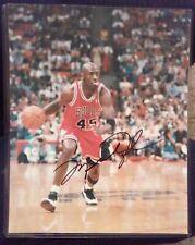 New listing Michael Jordan autographed 8 × 10