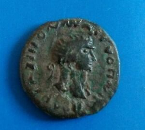 Roman bronze denarius celtic imitation