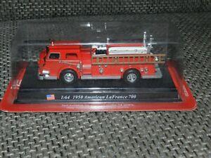 Del Prado 1:64 American La France 700 von 1950 (Feuerwehr) in OVP USA