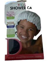 DONNA KIDS Premium Collection Shower Cap 100% Waterproof Black